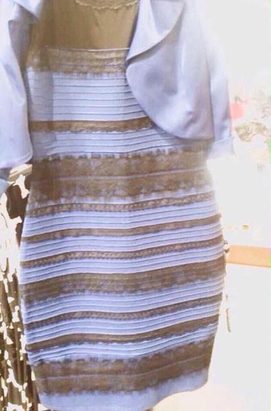 The dress original color of st